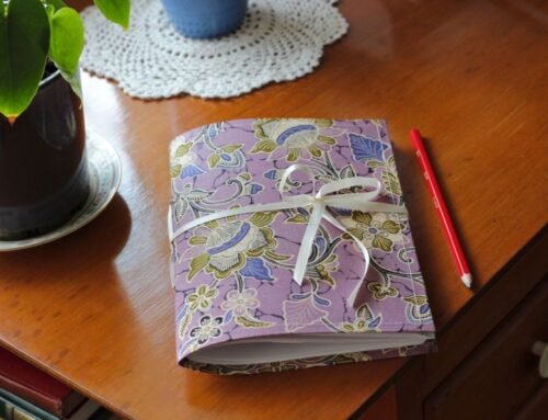 Make your own beautiful DIY fabric journal covers