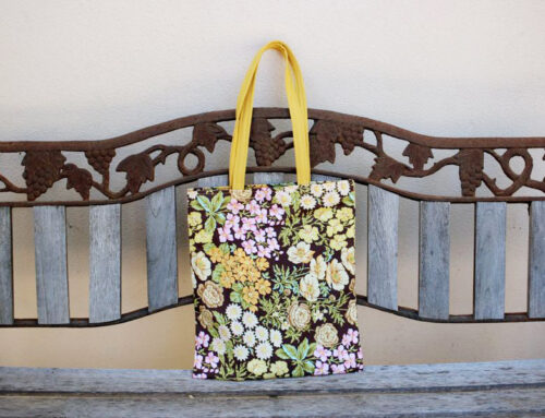 How to make your own green bag or shoulder tote