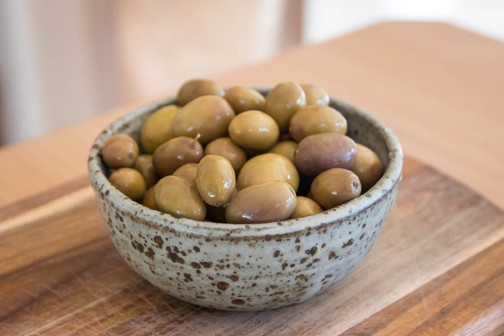 Olives, ready for eating