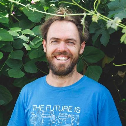 Wagtail Urban Farm's Steven Hoepfner