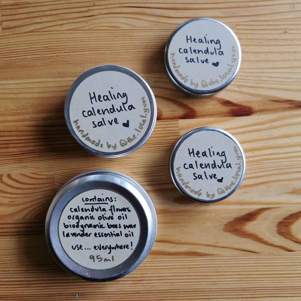 Healing calendula salve