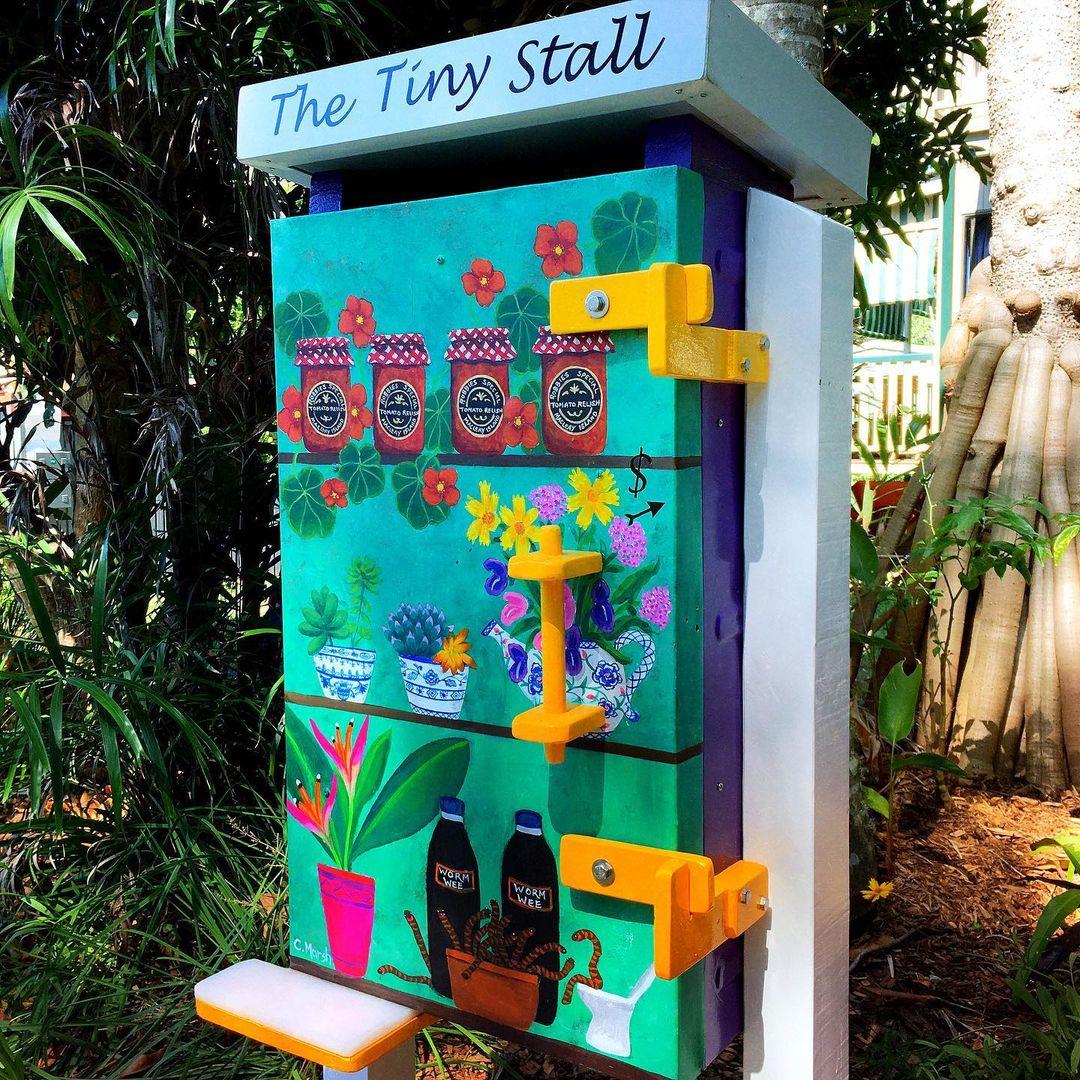 The Tiny Stall.